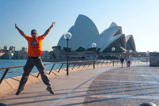 Australia-Sidney Opera House Salto