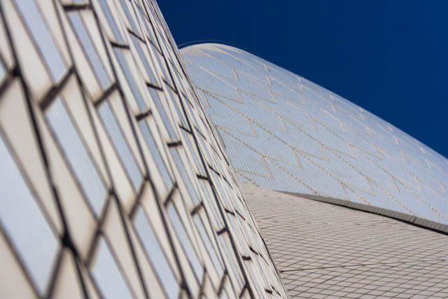 Australia-Sidney Opera House Tejado