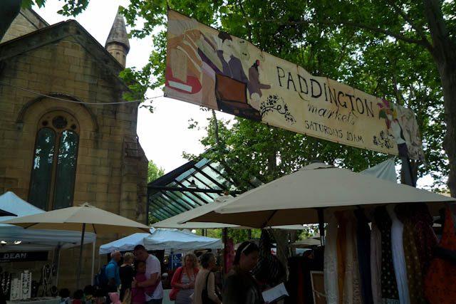 Australia-Sidney Paddington Market