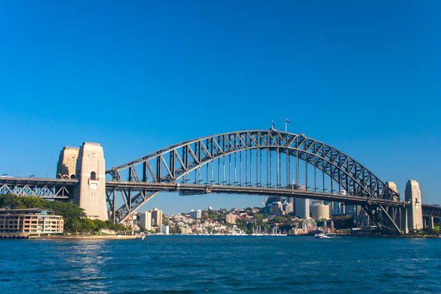 Australia-Sidney Puente Bahia Harbour Bridge