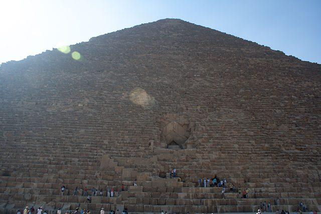 Egipto-Giza Entrada Turistas