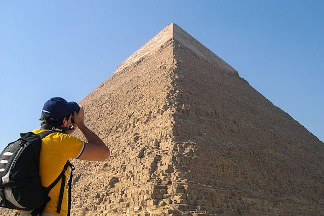 Egipto-Giza Fotografiando Piramides