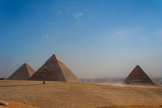Egipto-Giza Necropolis