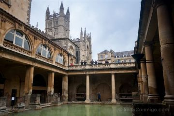Inglaterra-Bath Aquae Sulis Piscina Catedral