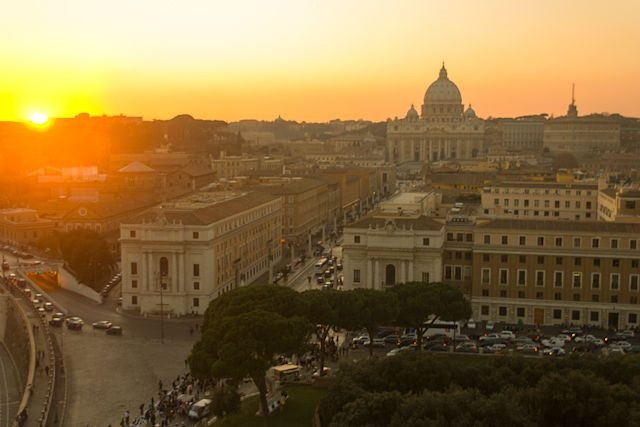 Italia-Roma Vista Castel Sant'Angelo