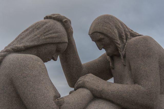 Oslo-Vigeland Park Estatuas