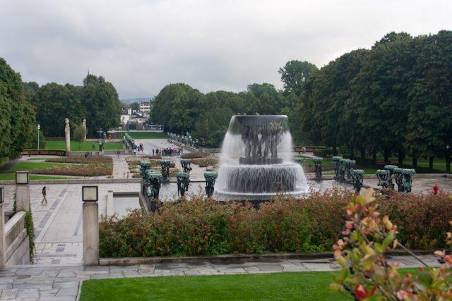 Noreuga Oslo-Vigeland Park Fuente