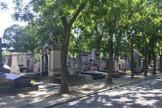Paris-Cementerio Montparnasse Calle