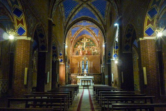 Jesi Marche San Marco Interior