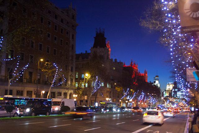 Navidad en madrid luces en las calles Calle belen madrid