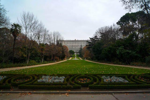 Madrid Jardines Campo Moro Palacio Real Paseo
