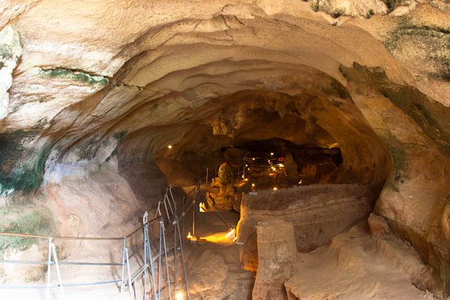 Malta Ghar Dalam Cueva Entrada