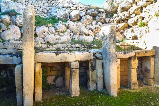 Malta Gozo Ggantija Altares