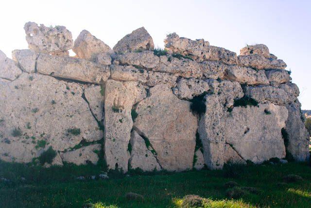 Malta Gozo Ggantija Muro