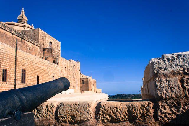 Malta Gozo Victoria Rabat Ciudadela Cañon