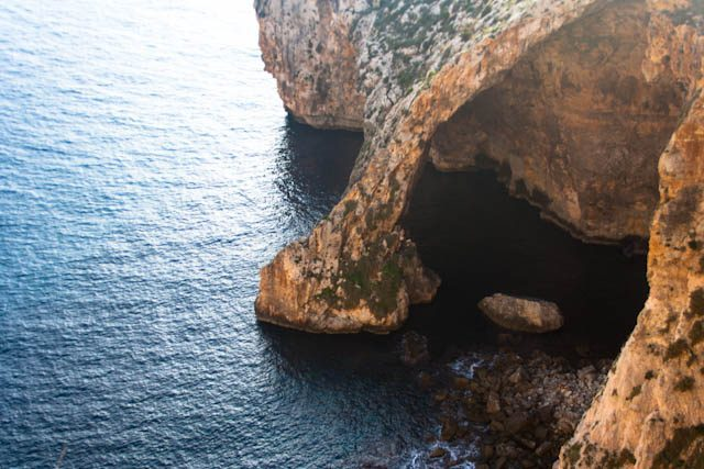 Malta Grotta Blue