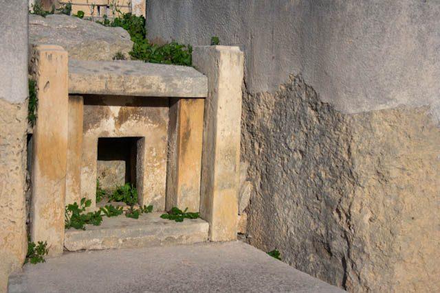 Malta Paola Templo Tarxien Altar