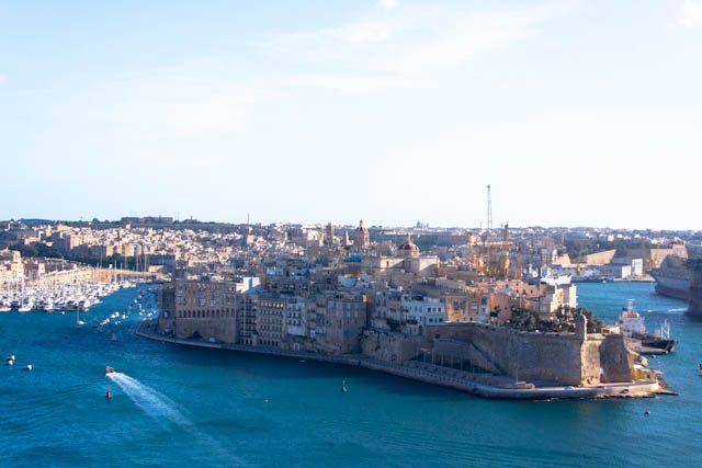 Malta Senglea Fortificacion