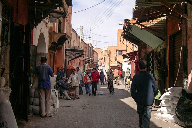 Marruecos-Medina Calle