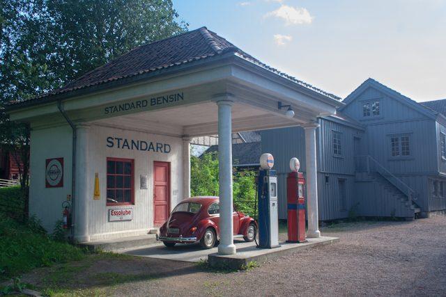 Oslo Norsk Folkemuseum Gasolinera