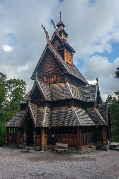 Oslo Norsk Folkemuseum Gol Stavkirke