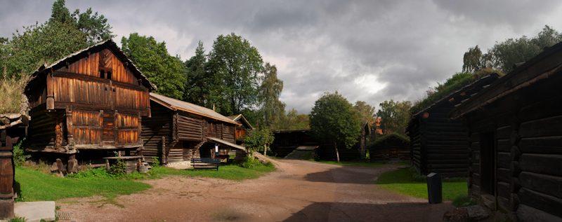 Oslo Norsk Folkemuseum Panorama