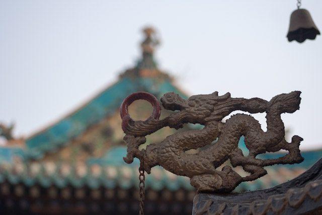 China Pingyao Dragon Templo