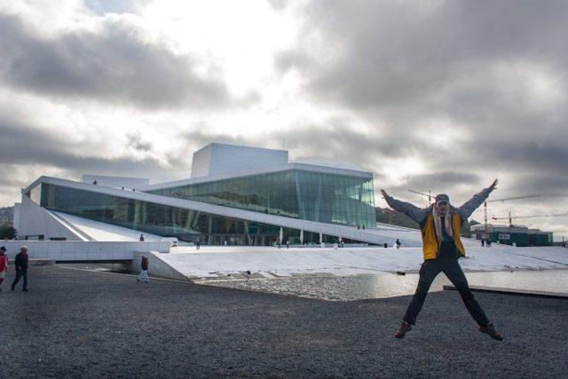 Noruega Oslo Operaen Exterior Salto
