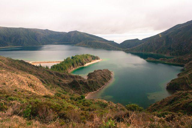 Azores Sao Miguel Lagoa Do Fogo