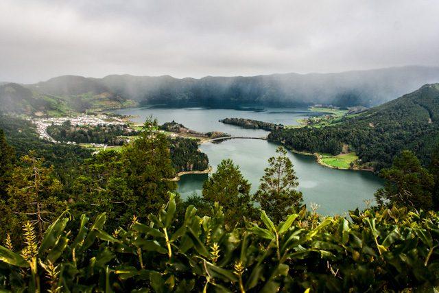 Azores Sao Miguel Sete Cidades