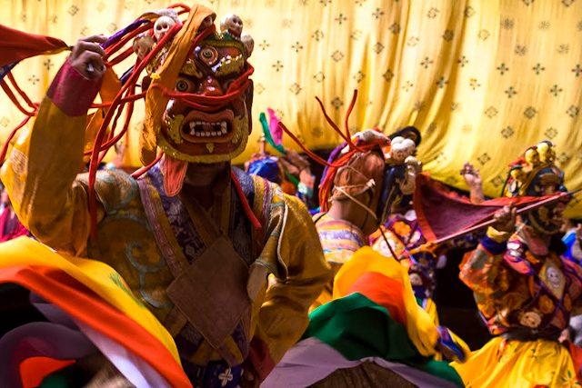 Butan Festival Tsechu Paro