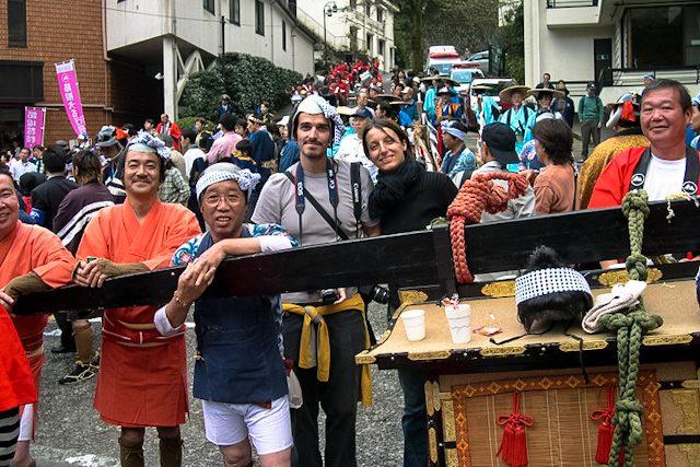 Japon Hakone Festival