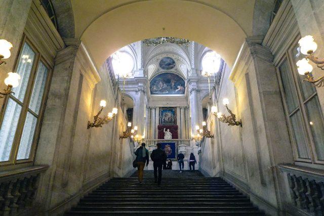 Madrid Palacio Real Escalera Sabatini