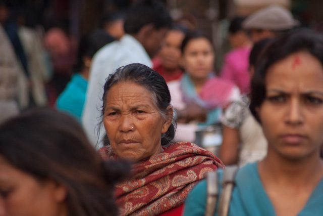 Nepal Durbar Square Katmandu Gente