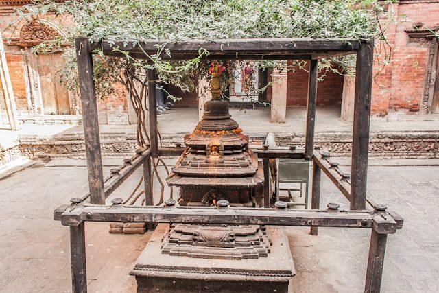 Nepal Durbar Square Katmandu Kumari Ghar Stupa Patio