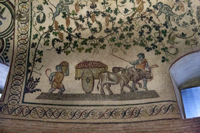 Roma Mausoleo Costanza Interior Mosaicos