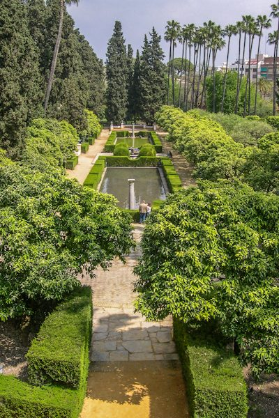 Sevilla Real Alcazar Jardin