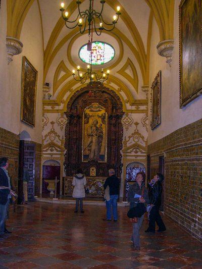 Sevilla Real Alcázar Palacio Gótico