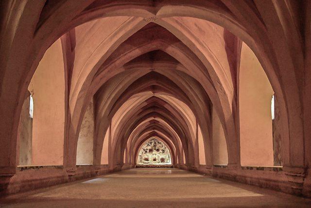 Sevilla Real Alcazar Palacio Gotico Baño Maria Padilla