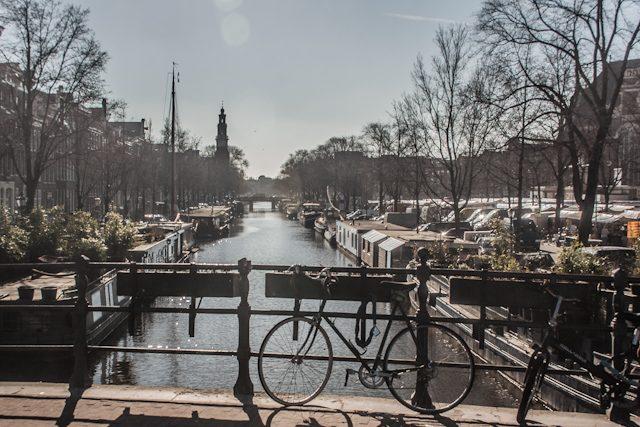 Amsterdam Canal Bicicleta