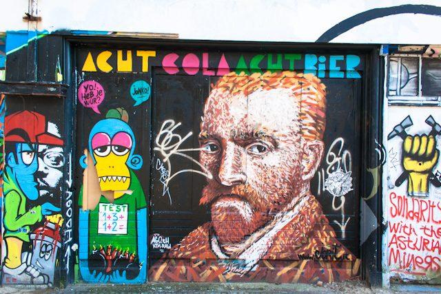 Amsterdam Graffiti Van Gogh