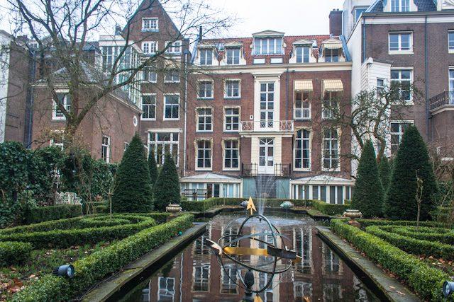 Amsterdam Jardin Geelvinck Hinlopen Huis