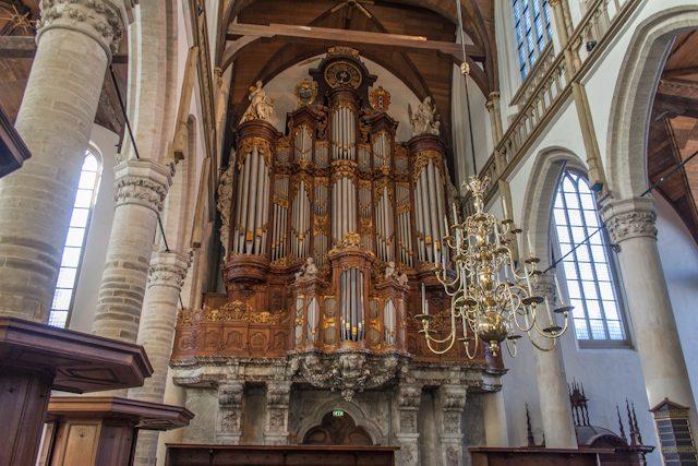 Amsterdam Oude Kerk Órgano