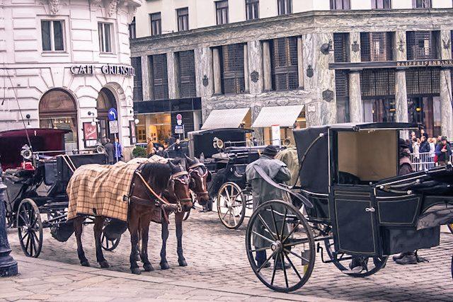 Austria Viena Carruajes