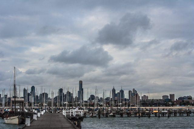 Melbourne St Kilda Muelle