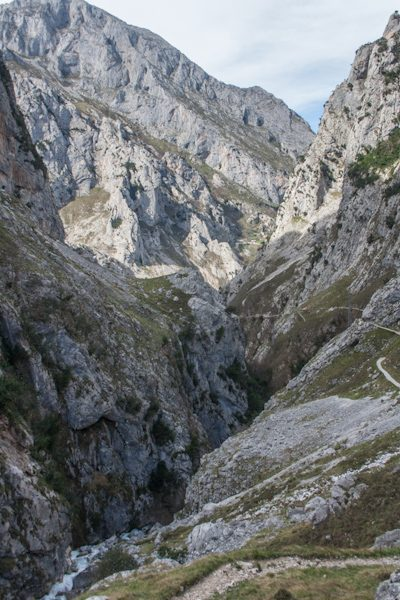 Picos de Europa Cortado Subida Bulnes