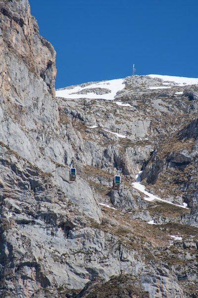 Picos de Europa Cabinas Teleférico Fuente Dé