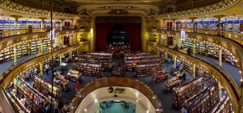 Argentina Buenos Aires Ateneo Grand Splendid Panoramica
