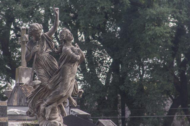 Argentina Buenos Aires Cementerio Chacarita Al Cielo