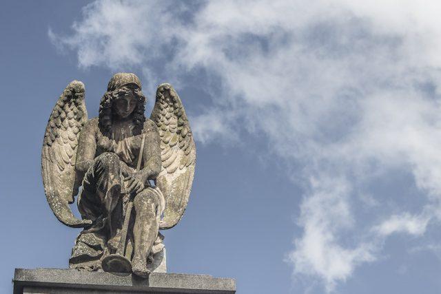 Argentina Buenos Aires Cementerio Chacaritas Angel